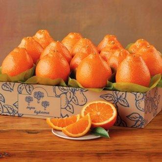 Коробочка с апельсинами