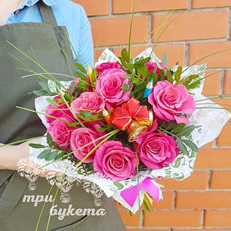 Букет на 1 сентября из роз